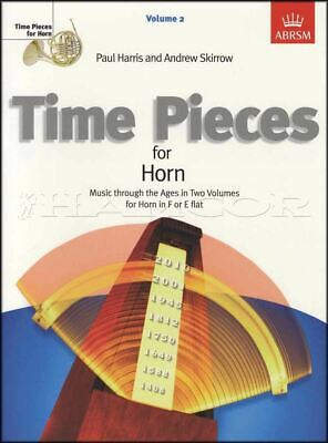 Time Pieces for Horn Volume 2 Sheet Music Book French Eb F SAME DAY DISPATCH