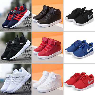 Girls Boys Running Trainers Kids Children Comfort  Casual Sports School Shoes UK