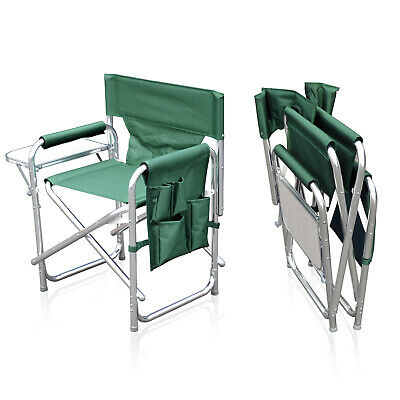 Sun Leisure® Folding Alloy Sports Directors Chair, 3 Colours, Strong And Sturdy