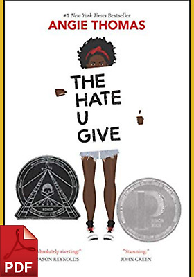 THE HATE U GIVE by Angie Thomas (PDF)⚡Fast Delivery⚡