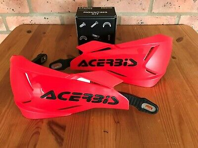 Acerbis X - Factory Universal Bike Hand Guards & Fitting Kit Crf Beta Red/black