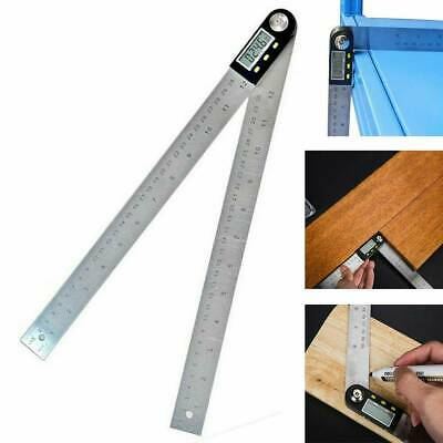 Stainless Steel Digital Angle Finder Ruler Protractor Goniometer 0-200 mm