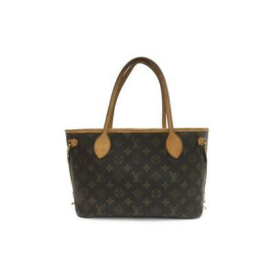 e3455b1df5bf Authentic LOUIS VUITTON Neverfull PM tote bag M40155 Monogram Used Vintage
