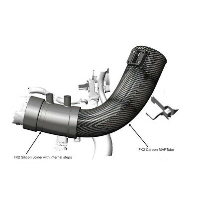 Eventuri Black Carbon Intake Pipe For Honda Civic Type R Fk2 15+