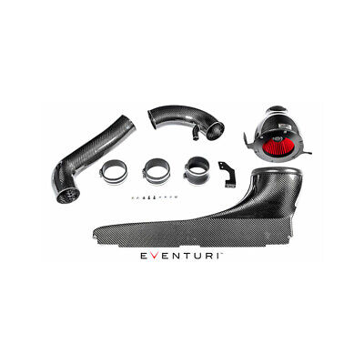 Eventuri For Audi 8V Rs3 Lhd Black Carbon Intake With Metal Turbo Tube