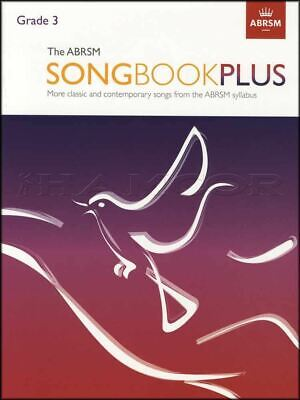 The ABRSM Songbook Plus Grade 3 Vocal Sheet Music Book Classic SAME DAY DISPATCH