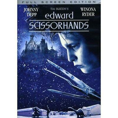 Edward Scissorhands (DVD, 2005, 10th Anniversary Edition Full Frame) NEW
