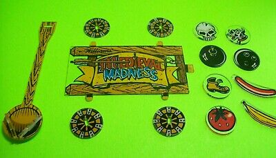 New Williams Medieval Madness Pinball Machine Catapult Promotional Plastic Set