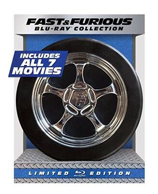 Fast and Furious 7-Movie Collection (Blu-ray Disc, 2015, 8-Disc Set