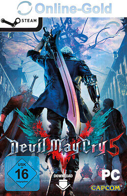 Devil May Cry 5 Key - DMC PC Steam Download Game Code Action - [DE][EU]