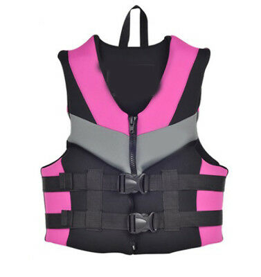 E22 Fishing Water Sports Kayak Canoe Boat Surf Ski Sailing Life Jacket Vest O