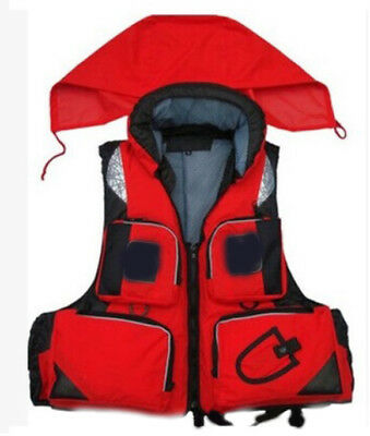 E15 Fishing Water Sports Kayak Canoe Boat Surf Ski Sailing Life Jacket Vest O