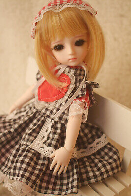 E03 1/6 Girl Super Dollfie Normal Skin Coordinate Model Fullset BJD Doll O