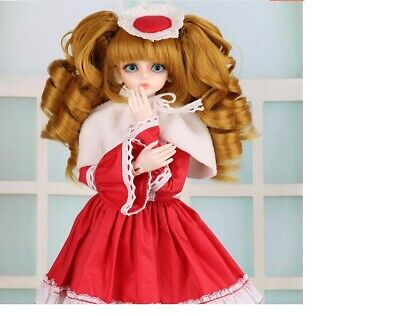 E06 1/4 Girl Super Dollfie Normal Skin Coordinate Model Fullset BJD Doll O
