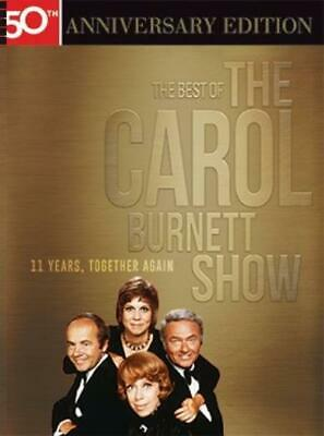 The Best Of The Carol Burnett Show: 11 Years, Together Again 10-Disc, 50th DVD