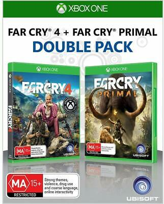 Far Cry Primal + Far Cry 4: Double Pack Xbox One Brand New Sealed