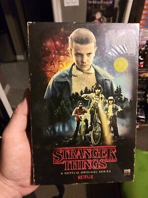 Stranger Things Season 1 Collector's Edition Blu-Ray + DVD NEW & SEALED! Poster