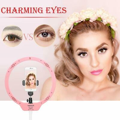 """ZOMEi 10.5"""" Tabletop Makeup Ring Light for Cellphone Live StreamTutorial Selfie"""