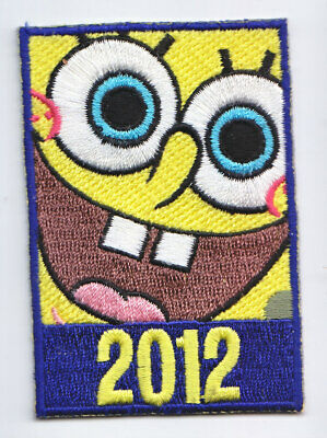 Boy Cub Girl Scout Fun Badge Patch~Spongebob Squarepants Universal 2012