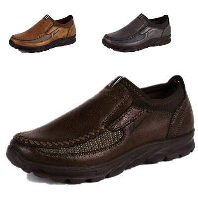 Men's faux Leather Breathable Antiskid Slip on Loafers Moccasins Casual Shoes