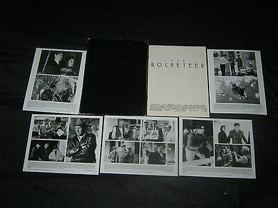 Original 1991 The Rocketeer Periodical Style 5 Foto Kit Prensa 36 Page Pressbook
