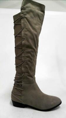 0e67204edcb9 Material Girl Mcayln Womens Over-the-Knee Boots SZ 6.5 M Tan 1