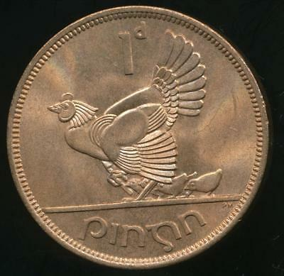 Ireland Republic, 1952 One Penny - Choice Uncirculated