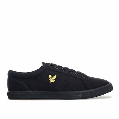 Mens Lyle And Scott Halket Trainers In Black
