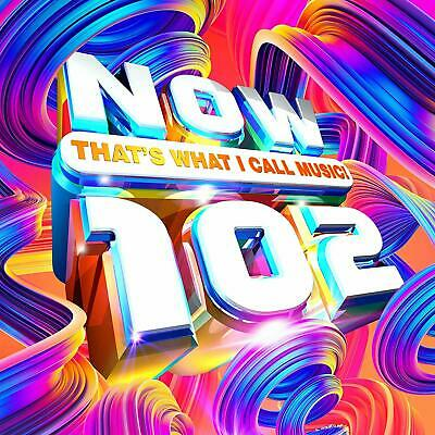 NOW THATS WHAT I CALL MUSIC 102 (Various Artists) 2 CD Set (2019)