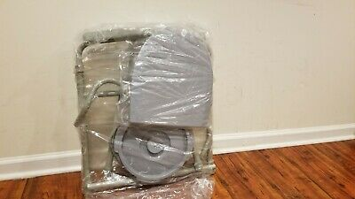 Bedside Commode Folding Chair Bucket Splash Guard Medical Toilet Seat Shower