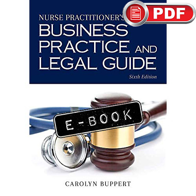 [PDF] Nurse Practitioner's Business Practice and Legal Guide 6th Edition