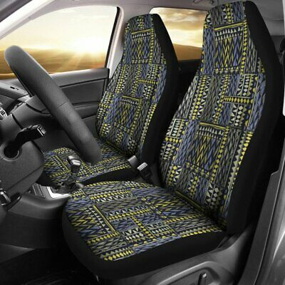 91-15 Frd Ranger Blk Silver 60-40 Seat Covers W Deer Tribal Choose From 9 colors