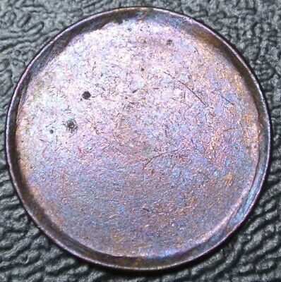 OLD CANADIAN COIN - ONE CENT - **ERROR** BLANK PLANCHLET - 2.51 grams