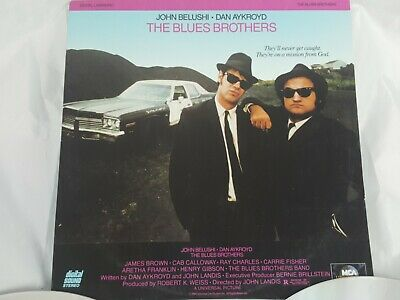 The Blues Brothers Double Laser Disc Set Digital Stereo