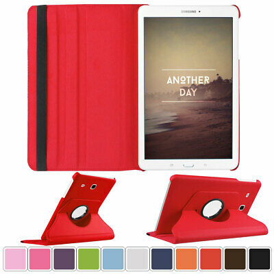 """Rotating Stand Shockproof Case Leather Cover For Samsung GALAXY Tab E 8.0"""" ..."""