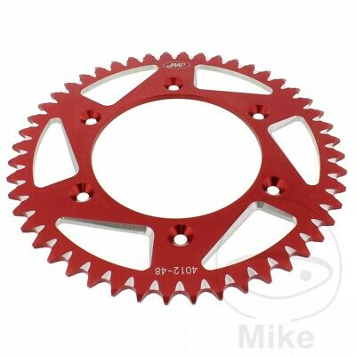 JMP Red Aluminium Rear Sprocket (48 Teeth) Honda CRF 450 X 2006