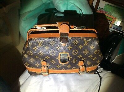 54fead585da VINTAGE LOUIS VUITTON doctors bag, from the 60's-70s on monogram leather.