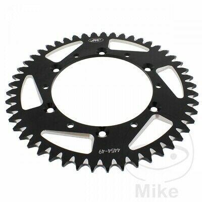 JMP Black Aluminium Rear Sprocket (49 Teeth) Kawasaki KX 250 R 2006