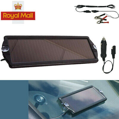 Car,Boat,Caravan,Van,Camper Solar Panel Trickle Battery Charger SPP01 Sealey 12V