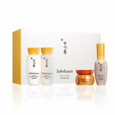Sulwhasoo Basic Kit Essential Balancing Water & First Care Serum Coreano