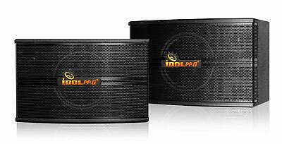 IDOLpro IPS-590 500W Professional High Fidelity Vocal Karaoke Speakers - PAIR