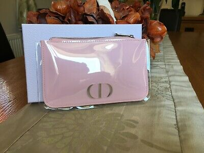 Christian Dior VIP Collection Pink Clutch Make up Bag pouch new in gift box