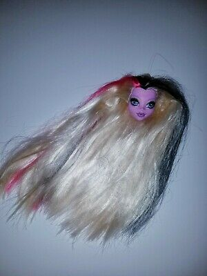 Monster High Doll Head For Ooak Or Repaint Bonita Femur