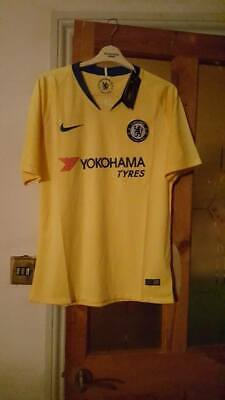 outlet store 18761 5cdf7 CHELSEA FC AWAY Shirt Kit size S SMALL 2018/19 NEW
