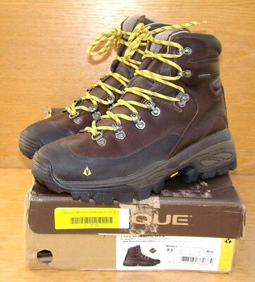 bf9a7b7369a6 VASQUE Eriksson Gore-Tex Brown Leather Hiking Boots 7187 Women s 8.5 W ...