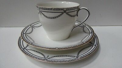 Aynsley England Trio Fine Bone China Porcelain Tea Cup Saucer Plate Set