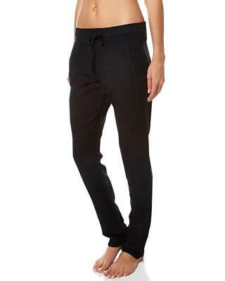 Rip Curl EASY CHINO PANT Womens Cotton Linen Casual Pants New - GPA4AJ Black