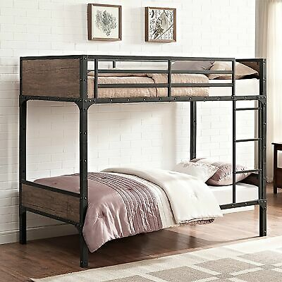b901c3bd4181d Taylor   Olive Browning Rustic Wood Twin over Twin Bunk Bed