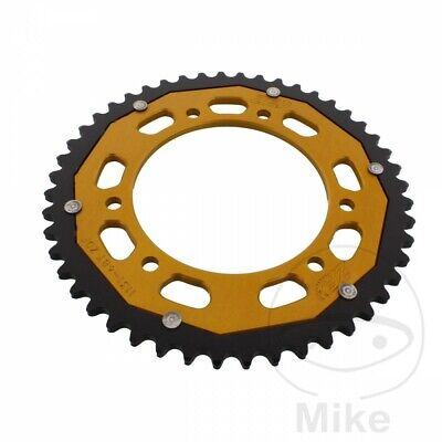 ZF Dual Gold Rear Sprocket (48 Teeth) Rieju RRX 50 2008-2009