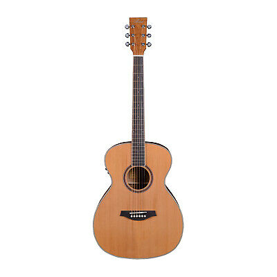 Artist OMC200EQ Solid Top Acoustic Guitar OM Size with EQ - New